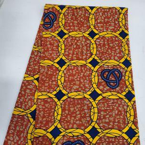 Supreme Wax Holland . Multicolor , 6 Yards. 100% Cotton . Handwash /machine Wash . for Sale in Austell, GA