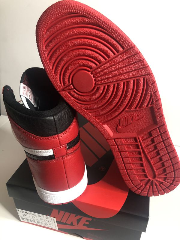 Nike air Jordan 1 homage to home size 9.5 ds