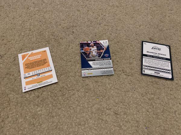 Brandon Ingram Rookie Lot Mosaic(Orange) and Optic/Complete RC