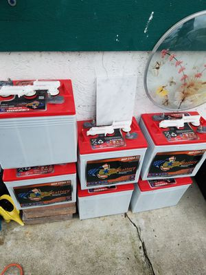 Golf cart batteries for Sale in Delray Beach, FL