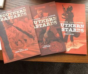Southern bastards comics volume 1-3 for Sale in Kansas City, MO