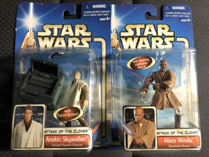 Star Wars mace windu and Anakin collectible figures for Sale in Culver City, CA