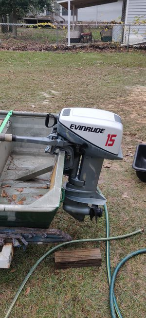 Evinrude 1979 15hp outboard for Sale in Lexington, SC