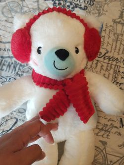 Soft Polar Bear Rattle for Sale in San Antonio,  TX