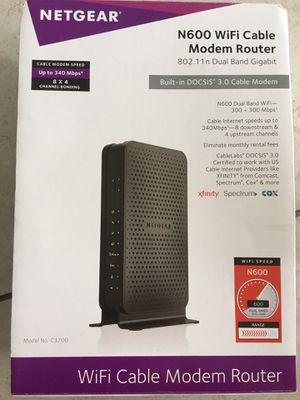 Netgear Modem router. for Sale in West Palm Beach, FL