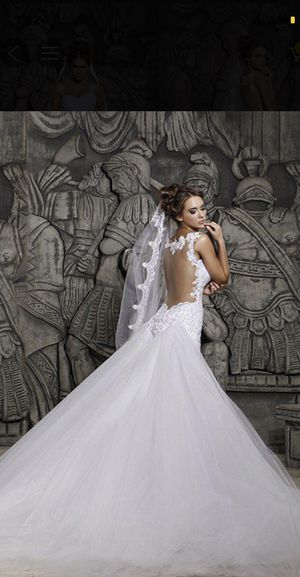 Wedding dress brand new with tags for Sale in Lansdowne, PA