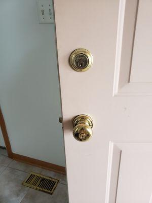 Baldwin lock and door knob for Sale in Romeoville, IL