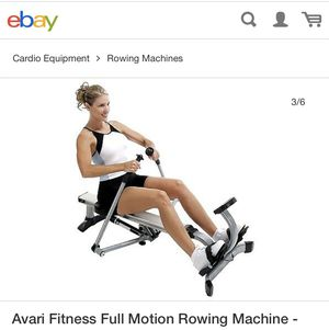 Avari fitness full motion Rowing machine!!!! for Sale in Vernon, CA