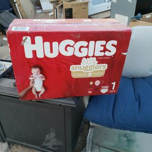 Huggies SIZE 1 Diapers Count 198 for Sale in Las Vegas, NV