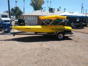 Hondo 16ft flat bottom for Sale in Mesa, AZ