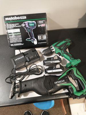 Hitachi / Metabo 18v Tool Set for Sale in Jenison, MI