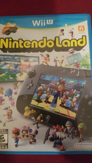 Wii U NINTENDO LAND LIKE NEW for Sale in Lakeland, FL