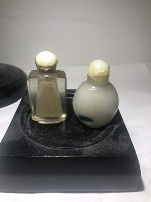 2 antique snuff bottles for Sale in Chicago, IL