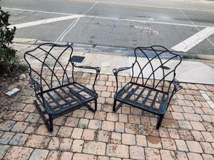 Woodard 1950 antique chairs they bounce for Sale in Fort Lauderdale, FL