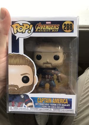 Infinity War - Captain America - Funko POP for Sale in Ocoee, FL