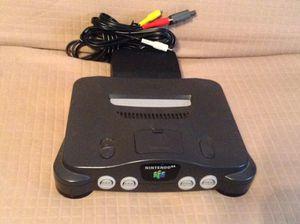 Nintendo 64 Console for Sale in Byron Center, MI