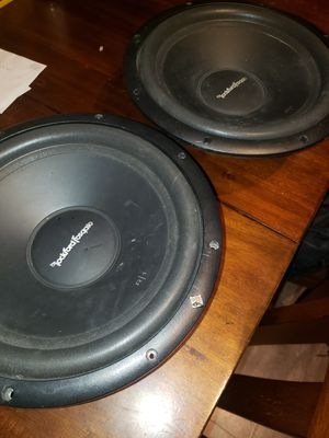 Rockford 12inch R-1 subwoofer for Sale in Mitchell, IL