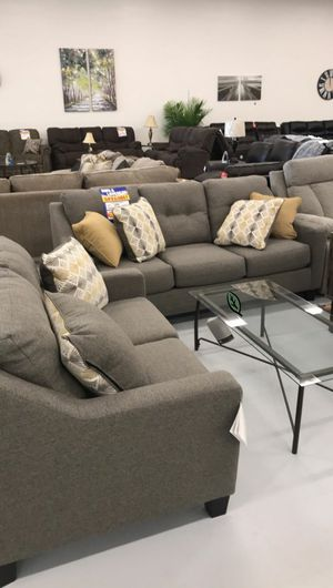 $39 DOWN❗BEST Deal 🛬 SPECIAL] Daylon Graphite Living Room Set 146 for Sale in Jessup, MD