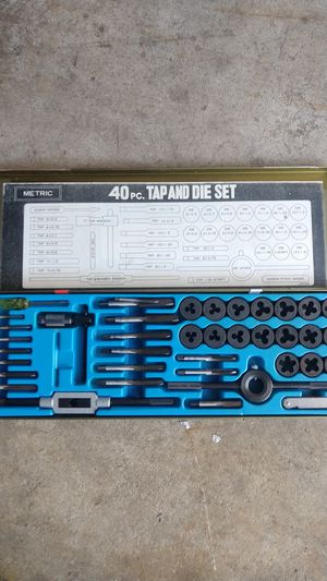 Tungsten 40pc Tap and Die Set for Sale in New Freedom, PA