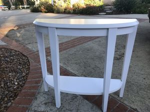 White console table for Sale in Poway, CA