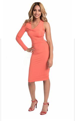 Kalent Zaiz Salmon Long Sleeve Dress for Sale in West Hollywood, CA