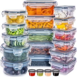 Plastic Containers with Lids Storage (20 Pack) for Sale in Los Angeles, CA