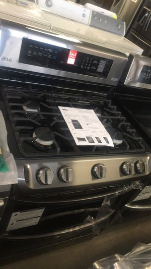 BRAND NEW SCRATCH AND DENT LG GAS 5 RANGE. WARRANTY, DELIVERY. SE HABLA ESPAÑOL. for Sale in Alexandria, VA