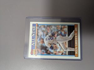 Ken Griffey Jr Topps baseball card 1991 for Sale in Fremont, CA