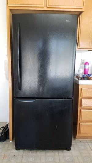 Kenmore Black Refrigerator - Freezer Bottom for Sale in San Diego, CA