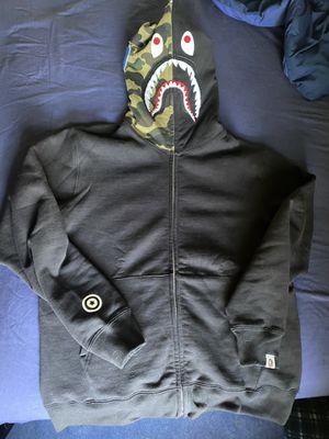Bape half camo zip up hoodie for Sale in Milwaukee, WI