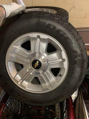 """18"""" Silverado wheels for Sale in Streamwood, IL"""