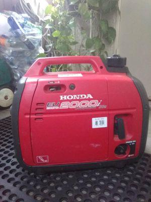 Honda Eu inverter 2000i companion 30a for Sale in Fullerton, CA