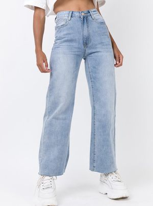 "Princess Polly ""Cece Hammer Wide Leg Jeans Vintage Blue Denim"" for Sale in Nipomo, CA"