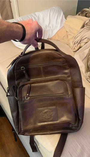 Genuine Leather Medium Bookbag for Sale in Pittsburg, KS