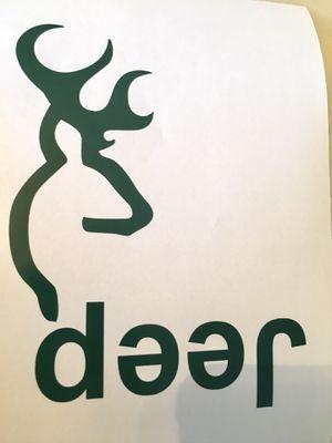 John Deere / Jeep Decal for Sale in Virginia Beach, VA