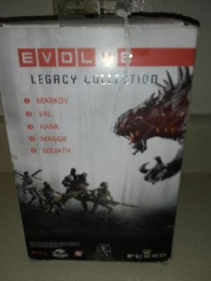 EVOLVE, 2 LEGACY COLLECTION, VAL ACTION FIGURAE for Sale in Tacoma, WA