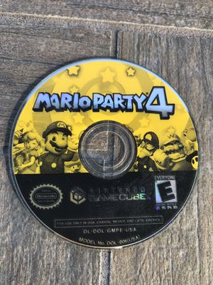 Mario Party 4 Nintendo GameCube Disc Only for Sale in Tampa, FL