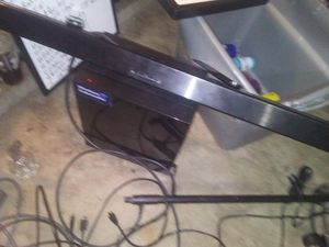 Samsung wireless amp and soundbar for Sale in Albuquerque, NM