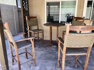 5 piece outdoor furniture set for Sale in Las Vegas, NV