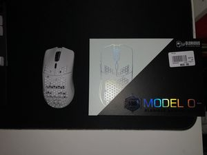 """Glorious Model O Minus Gaming Mouse """"Glossy White"""" for Sale in Yorba Linda, CA"""