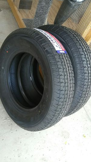 4 new trailer tires ST 205/75/15..10 ply.. for Sale in Palmdale, CA