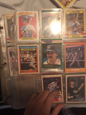 RARE MLB BASEBALL CARD BOOK LOT for Sale in Kyle, TX