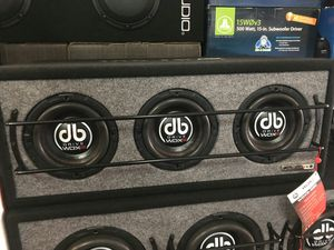 DB drive 3 8 inch subwoofers our deals can't be matched for Sale in Los Angeles, CA