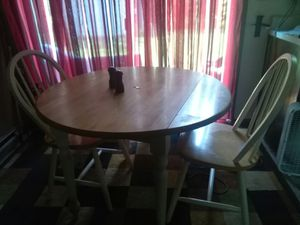 Kitchen table and chairs for Sale in Burnsville, WV