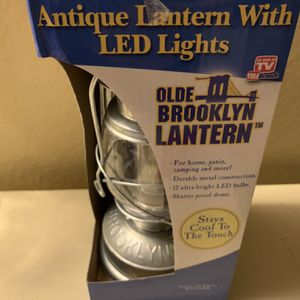 Antique Lateen With LED Lights for Sale in Haines City, FL