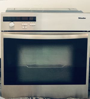 000000MIELE Built in Convection Oven Stainless Steel H373-2B for Sale in Miami, FL