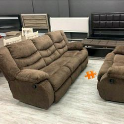 Tulen Mocha 2 PIECE LIVING ROOM SET $39 down payment only / for Sale in Arlington,  VA