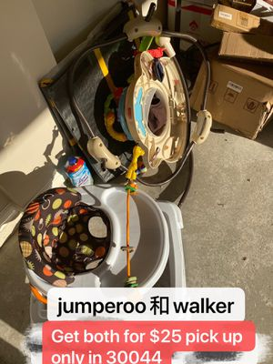 jumperoo And walker for Sale in Lawrenceville, GA