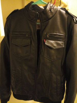 Levis Leather Mens Large Jacket for Sale in Austin, TX