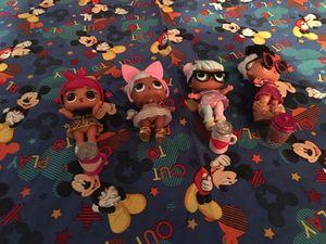 Lol dolls $4.00 each for Sale in San Antonio, TX